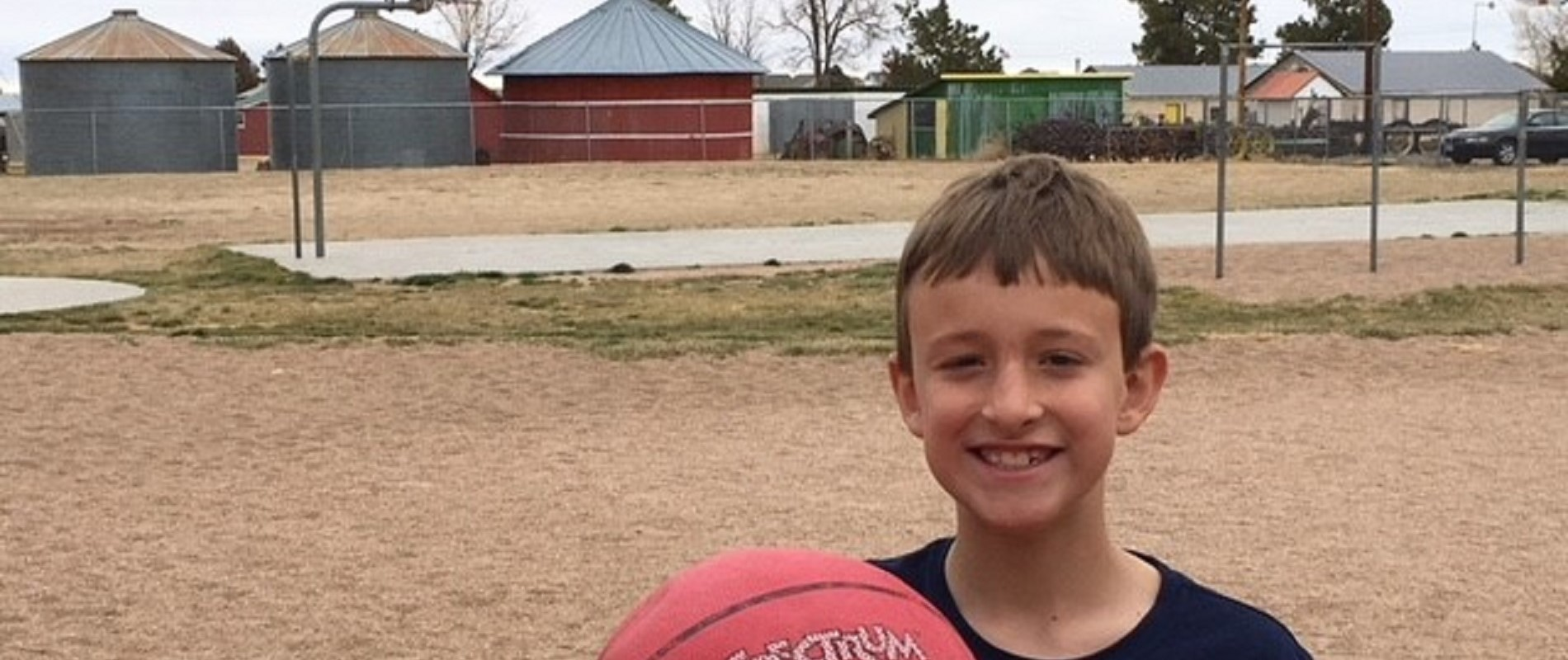 boy wants to play in the NBA